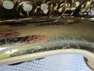 Vintage Conn alto saxophone sax 1970 minor project for repair