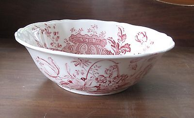 ALFRED MEAKIN STAFFORDS ENGLAND CHARLOTTE BOWL Red