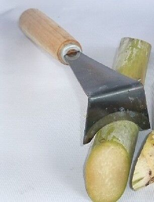 Sugarcane Peeler knife, handheld, easy and portable, fast and clean !