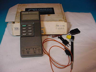 Fluke 52 K/J Thermometer with Probe -200 C - to 1370 C