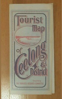 Last one of my 2 listed Vintage Geelong maps remaining
