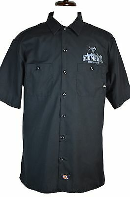 DOOMSDAY Brewing Co XL Shirt Dickies Washington State Beer Bowling Delivery Work