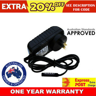 AC Adapter Charger 12V for Microsoft Surface RT/Pro 1 1514/Surface 2 1512 1572