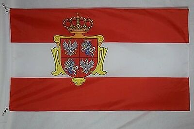 Polish - Lithuanian Commonwealth Grand Duchy of Lithuania  3x5 flag banner