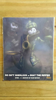 The Turds Movie Still No Sh*t sherlock- Brand NEW in SEALED PACK LIMITED EDITION