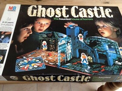 Ghost Castle Board Game by Mb Games