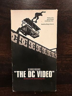 DC Shoes The DC Skateboard Video VHS