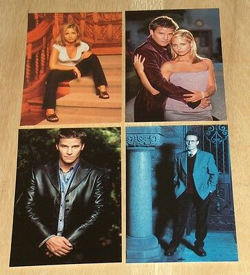 4X Buffy The Vampire Slayer - Post Cards - Angel - 1999 - Collection 1