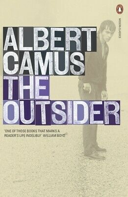 Penguin classics: The outsider by Albert Camus (Paperback)