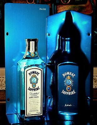 1 x GIN BOMBAY SAPPHIRE ► By R. Arad ♦  DRY GIN ♦ 70 cl ♦ 47%/Vol
