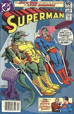 Superman #366 (Dec 1981, DC) 1st Appearance of Todd McFarlane in Fan Mail Letter