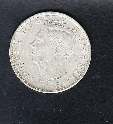 ROMANIA SILVER COIN 500 LEI , 1944 YEAR x 12 Gm
