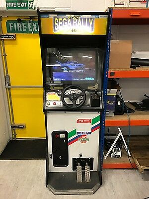 sega rally arcade machine