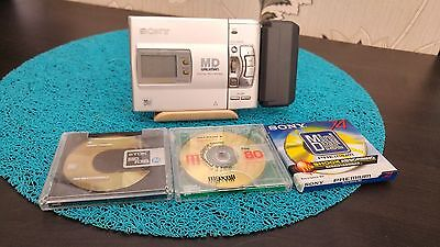 SONY WALKMAN Personal MiniDisc MD Recorder Player MZ-R50 Silver, BATTERY PACK