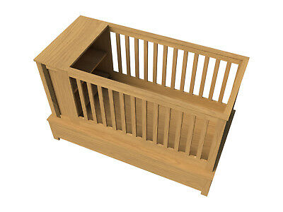 Build our own baby crib (DIY Plans) Fun to build! Save Money!