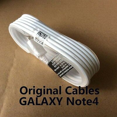 100% 1.2 M GENUINE SAMSUNG MICRO USB  DATA CABLE FOR GALAXY S4 S5 S6 7 Edge Note