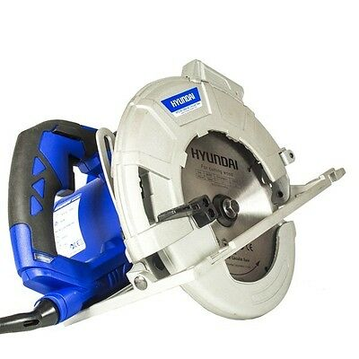 Hyundai 1600w Corded Electric 230V Circular Saw w/ laser guidance | Power Tools