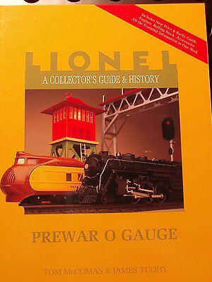 """Set Of Six """"lionel - A Collectors Guide & History"""" Tom Mccomas & James Tuohy"""