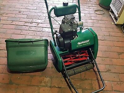 Qualcast Classic 35s Self Propelled Cylinder Mower.