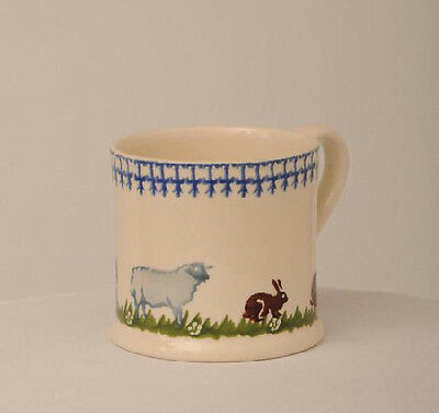 BRIXTON POTTERY NEW HANDMADE 250ml POTTERY MUG - Farm Animals