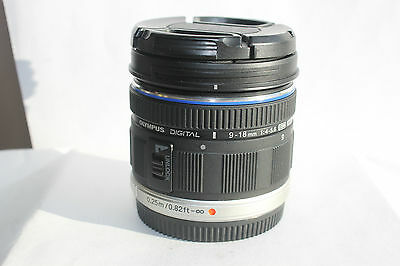 Olympus M Zuiko Digital 9-18Mm F 4.0-5.6 Micro Four Thirds Lens