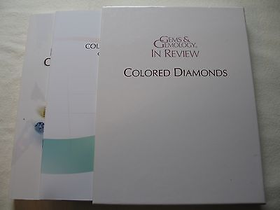 Gems & Gemology in Review Colored Diamonds NEW - John King - GIA Publication
