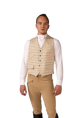 Men's Mears Derby Checked Waistcoats