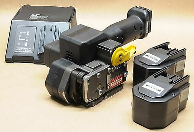 """*Reconditioned* FROMM P-321 5/8"""" 14.4V battery strapping tool orgapack signode"""