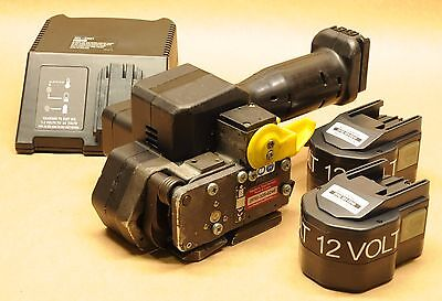 """*Reconditioned* FROMM P-320 1/2"""" 12V battery strapping tool orgapack signode"""