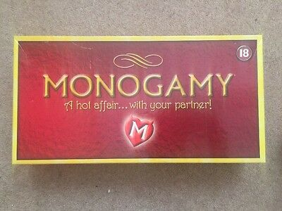 Monogamy Adult Board Game UK Version For Couples Hot Affair Fun Party Discreet