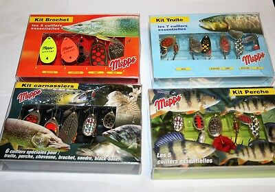 Mepps Spinner Kits - Predator, Trout, Perch or Pike