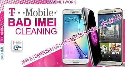 T-Mobile IMEI CLEANING Service for iPhone 6 Plus BLACKLISTED UNBLOCK UNBARRED