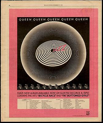 "1978 Queen ""jazz"" Album Ad"