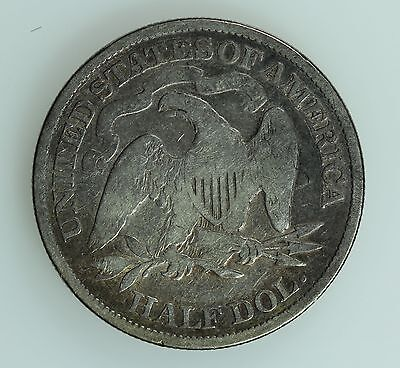 1891 Seated Liberty Half Dollar! F+/vf Details! 50C! Us Coin Lot #181