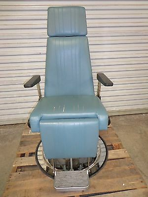 """Jedmed ENT S """"S"""" Chair Exam Diagnostic Bed Model 04-1340 Manual Hydraulic"""