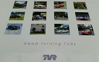 TVR car official Calendar rare griffith tuscan cerbera memorabilia collectors