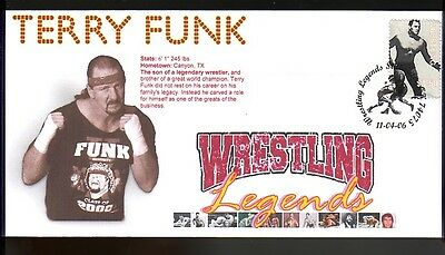 Terry Funk 2006 Wrestling Legends Tribute Cover