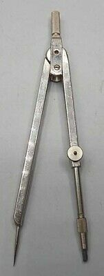 "Vintage Adjustable Leg Chrome Plated Brass 4 3/4"" COMPASS Germany"