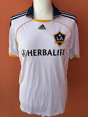 Los Angeles Galaxy Adidas XL USA #23 Beckham MSL Maglia Calcio Camiseta Shirt