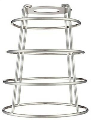 "Westinghouse 8503600 2-1/4"" Brushed Nickel Industrial Cage Neckless Metal Shade"