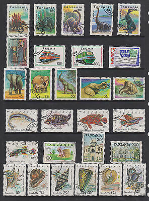 Collection Of Colourful Stamps From Tanzania  , See Scans