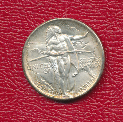 1937-D Oregon Silver Commemorative Half Dollar *uncirculated Beauty!* Free Ship!