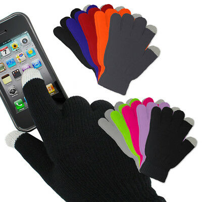 5 Pairs: Refael Collection Unisex Women Men Winter Touchscreen Texting Gloves
