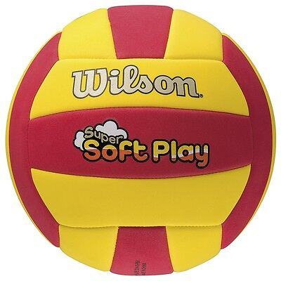 Wilson Super Soft Construction Synthetic EVA Material Play Beach Volleyball Ball