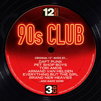Various Artists : 12 Inch Dance: 90s Club CD (2014)