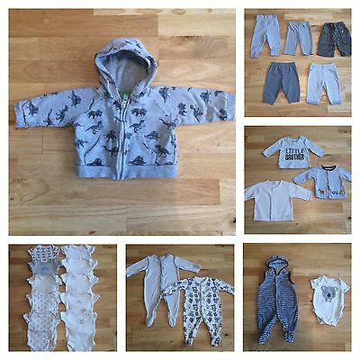 Big bundle baby boys clothes age 0-3 months