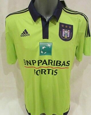 adidas Anderlecht Away Football Jersey BNWT Size Large Mens Free Postage