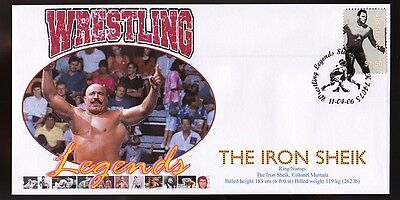 The Iron Sheik 2006 Wrestling Legends Tribute Cover