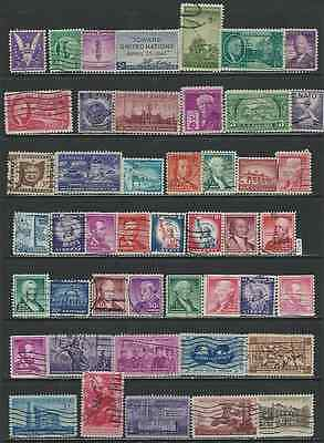 #7521 US Lot of Used Stamps