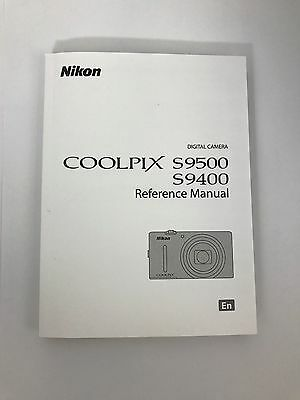 Nikon Coolpix S9500 Genuine Instruction Owners Manual S9500 Book Original NEW